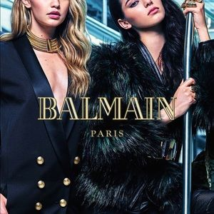 Balmain Jackets & Coats - Balmain X H&M Limited Edition Faux Fur Jacket